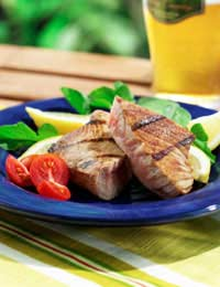 Barbecue Recipes Barbecued Tuna